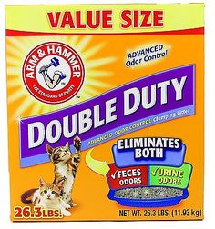 Pet Clumping Litter Odor Control Pet Clumping Litter Double Duty Arm And Hammer