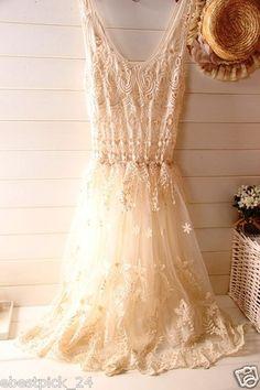 ♥ FREE GIFT bohemian maxidress romantic cute maxi retro vintage dress sheerdress crochet