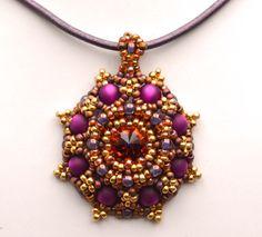 Desert Flower Pendant | JewelryLessons.com