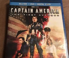 Captain America: The First Avenger (Blu-ray/DVD 2011 2-Disc Set)