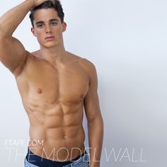 Pietro Boselli for The Model Wall #nipples #armpits
