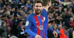 La dedicación de Messi para los niños con Cáncer en el partido...