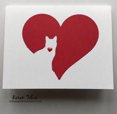 13 Quick & Easy Cat Cards!   KarenTitus.com