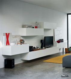 Open Wallunits 2 - Contemporary Cabinets | Fanuli