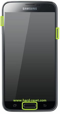 How to remove forgotten password on your Samsung Galaxy S5 phone. If you are unable to get access to your Samsung Galaxy S5 device, you have to perform a factory reset / hard reset using the following procedure.  1. Turn off your Samsung Galaxy S5 Andorid phone and make sure you have charged the battery at least 50%. 2. Press and hold Volume up, Home and the...  http://www.hard-reset.com/samsung-galaxy-s-5-hard-reset.html