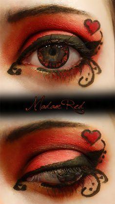 Kuroshitsuji inspired makeup