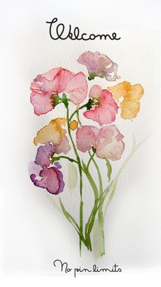 Zipper 8 Lighting — Stunningly beautiful watercolor by Etsy artist. Watercolor Cards, Watercolour Painting, Watercolor Flowers, Painting & Drawing, Watercolors, Watercolor Classes, Easy Watercolor, Watercolor Tattoo, Watercolor Print