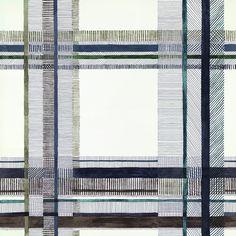 NIGEL'S TARTAN col. M01 Hermès Home, Fabrics & Wallpapers, Collection 2016/17