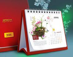 "Check out new work on my @Behance portfolio: ""Hitachi Vantara Calendar 2018"" http://be.net/gallery/60924639/Hitachi-Vantara-Calendar-2018"