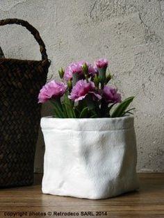 cache pot origami zinc gm d co scandinave madam stoltz origami d co et ps. Black Bedroom Furniture Sets. Home Design Ideas