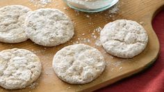 Mix 'em up with what's on hand. These spicy little cookies melt in your mouth!