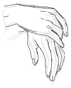Manos Hand Drawing Reference, Anatomy Reference, Art Reference Poses, Pencil Art Drawings, Cool Art Drawings, Art Drawings Sketches, Drawing Techniques, Drawing Tips, Learn To Draw