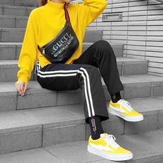 GUCCI Coco Capitan Belt Bag || Revenge X Storm (Yellow)