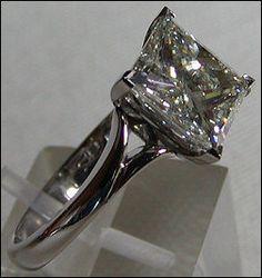 princess diamond solitaire