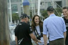 Kate and William after race. Guess who won?