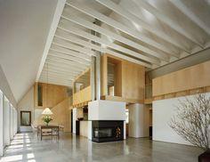Modern Barn Living Room - modern - living room - new york - Specht Harpman