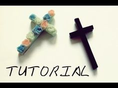 DIY ✞ Cross pendant / Fimo Tutorial: Croce Mischa H