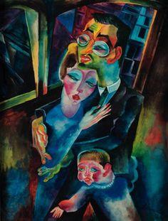 Conrad Felixmuller (German expressionist painter, 1897 – 1977)
