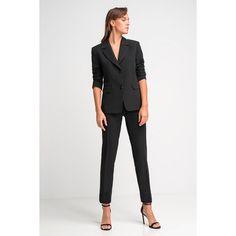 Γυναικείο κοστούμι μαύρο. Blazers, Suits, Shopping, Style, Fashion, Swag, Moda, Fashion Styles, Blazer