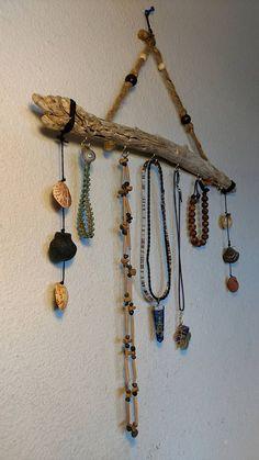 Cherry Wooden Jewelry Organizer Jewelry Display Stand DoubleSided
