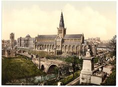 Old image of Glasgow Cathedral