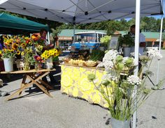 South Durham Farmers' Market, year round market, open Saturdays 8 am to noon in Greenwood Commons.