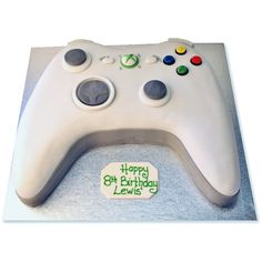 game controller birthday cake for boys