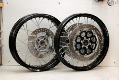 Pair_of_wheels_Seven Fifty cafe-racer Honda_ Wheels: spokes and rims_Part 2_Gazzz-garage.com