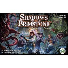 Load up yer' six shooter, throw on yer' hat and poncho, and gather the posse - the darkness is coming, and all hell's about to break loose in the Shadows of Brimstone! A fast-paced, cooperative, dungeon-crawl boardgame set in the Old West mixed with Unspeakable Horror, players in Shadows of Brimstone take on the role of classic Western Hero Archetypes, such as the Law Man, Gunslinger, or Saloon Girl, then form an adventuring posse to venture down into the dark mines overrun with all manner…
