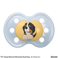 TU- Funny Bernese Mountain Dog Original Art BooginHead Pacifier