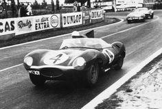 jaguar d type le mans1956