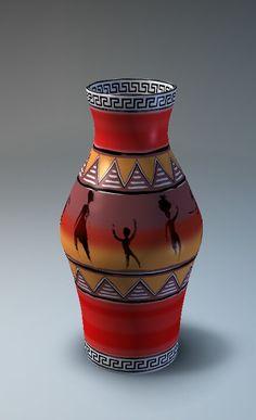 Worli Painting, Flower Painting Canvas, Bottle Painting, Bottle Art, Pottery Painting Designs, Pottery Designs, Glazes For Pottery, Pottery Vase, Plastic Bottle Crafts