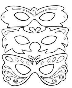 Yeni Yıl Partisi Maske Ve Gözlük Kalıpları - Okul Öncesi Etkinlik Kütüphanesi - Madamteacher.com