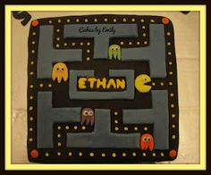 Cakes by Emily: Pac-Man Cake...