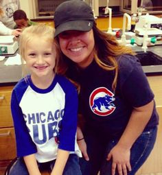 When mentor/little buddy pairs root for the same baseball team you know it's meant to be!  @Cubs #ChicagoCubs #CollegeMentorsForKids #CollegeMentors by ilstu_cmfk