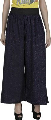 Shopingfever Regular Fit Women's Trousers - Buy Dark Blue, Pink Shopingfever Regular Fit Women's Trousers Online at Best Prices in India | Flipkart.com