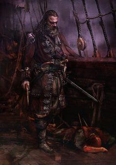 Blackbeard by muratgul