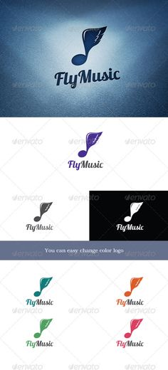 FlyMusic — Photoshop PSD #music #red • Available here → https://graphicriver.net/item/flymusic/3139983?ref=pxcr
