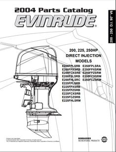 Download 1990-2001 Evinrude Johnson Outboard Service