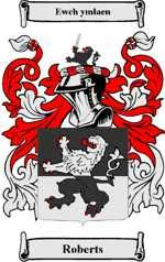 Roberts family crest Wales