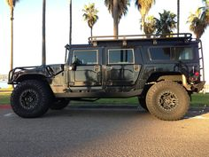 """sold—-Hummer h1 """"alpha interceptor search and rescue edition"""" duramax turbo diesel 6 speed allison transmission"""