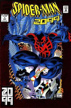 Spider-Man 2099 #1 First appearance of Spiderman 2099