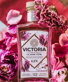"""Victoria Gin on Instagram: """"Victoria Classic Pink is an authentic Prince Albert inspired gin. Made exclusively from the finest ingredients hand selected for their…"""" Prince Albert, Gin, The Selection, Perfume Bottles, Victoria, Inspired, Classic, Inspiration, Instagram"""