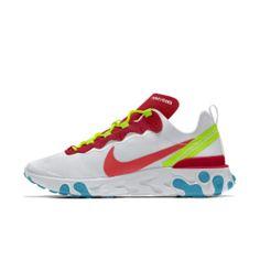 รองเท้าตามไลฟ์สไตล์ผู้ชายออกแบบเอง Nike React Element 55 By You Sneakers Nike, Shoes, Fashion, Nike Tennis, Moda, Shoe, Shoes Outlet, Fashion Styles, Fashion Illustrations