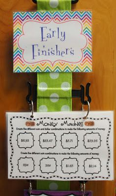 educationjourney: Early Finisher Task Cards Love this. Anchor Activities, Enrichment Activities, Classroom Activities, Classroom Organization, Classroom Management, Classroom Freebies, Class Management, Math Early Finishers, Early Finishers Activities