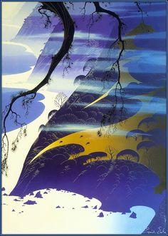 Mystical Fog Eyvind Earle - WikiPaintings.org 1987