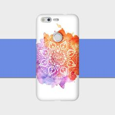 Purple Orange Mandala Print Smartphone case.    All of our cases are a snap on slim case that will protect your phone from scratches and and drops. The cases are carefully printed on using the 3D sublimation process on either two types of finish; our beautiful Glossy finish, or our Elegant Matte finish. Go ahead, browse our store and find the case design that matches your fashion.     -Your Phone:-    Choose your device model from the dropdown. For your reference, here are the list of phone…