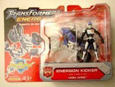 Hasbro-Takara Transformers Powerlinx 'Kicker Jones' with High Wire motorcycle MOSC, new factory sealed. Transformers Energon, Transformers Toys, Tomboys, Amazons, Man Of Steel, Hulk, Barbie Dolls, Rid, Action Figures