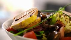 Foie gras dans tous ses états au restaurant la Brasserie des Lices !   http://www.restovisio.com/restaurant/la-brasserie-des-lices-992.htm#presentation