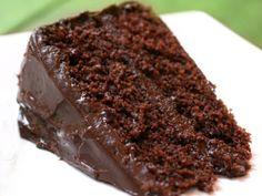 Receitas de Chocolate: Bolo de Chocolate Húmido